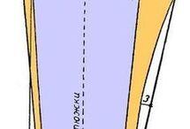 построение выкроики жен брюк