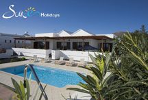 Villa Gudrun #50 Puerto Calero - Lanzarote - Spain / This attractive, single storey, three bedroom villa is located in the exclusive marina of Puerto Calero. It is within a short walk of the promenade of international restaurants, bars, cafes and designer shops. The resort of Puerto del Carmen is only a ten minute drive away with its picturesque Old Town and harbour and miles of golden beaches. The villa benefits from WiFi internet connection