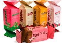 Packaging / food packaging, product packaging, fashion packaging, labels, bags