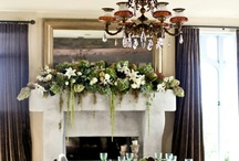 Mantle Flowers / by Maxit Flower Design