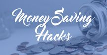 Money Saving Hacks / The best tips and tricks to help you save money. Budgeting, money management, frugal living, tips for saving money, savings plan, how to save money.