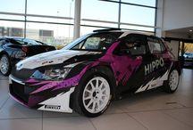 Rally Car wraps