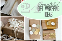 Gift wrap, ideas / Ideas for packing
