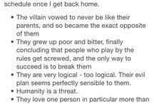 About villains