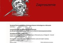 """Wystawa """"Wampiry w średniowiecznej Polsce"""""""