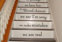 Stair stencils / Painting