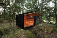 Tiny retreat houses