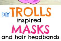 maschera trolls