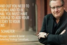 Inspirational Thoughts On Effective Branding Strategies -with Mark Schaefer / Mark W. Schaefer is an internationally-acclaimed college educator, author, keynote speaker, and strategy consultant. He has given speeches and workshops for some of the biggest brands on the planet and is available to create a memorable and entertaining speech or workshop for his clients.