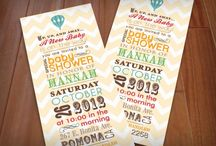 Baby Shower - Invitations / by Alex Grau