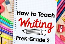Writing / writing instruction  / by Giovanna Feula