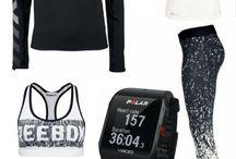 sportliche outfits/übungen