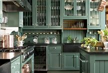 kitchens hand painted