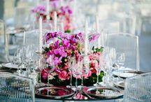 Casamento ♥ Decoração de Casamento / Ideias e sugestões para Decoração de Casamento.