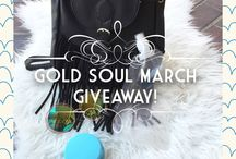 Gold Souls March Giveaway!