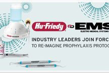 Hu-Friedy + EMS / With nearly 140 years of combined experience and clinically proven products and processes, Hu-Friedy and EMS are ideally positioned to provide clinicians and patients with the most effective, comfortable, and economic prophylaxis protocol. / by Hu-Friedy