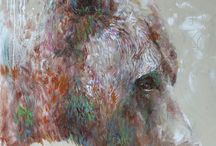 Bears / Paintings inspired by Grizzly Bears, Polar Bears and Black Bears
