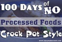 Crockery Recipes / Crock Pot cooking that's easy to get a meal together and recipes that taste good