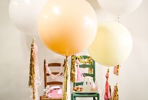 Balloons | Garlands. / by Miki Williams