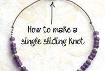 Bracket sliding knot