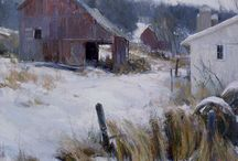 Snow / Mostly paintings of snow