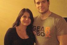 Henry Cavill with fans in L.A 2016 / Superman Henry Cavill with fans in Los Angeles April 2016