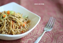 Indo-Chinese - Spice Counter / Spice Counter recipes for Chinese dishes with an Indian twist