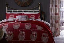 """""""A WISE OLD OWL"""" / Jogo saco em algodão estampado reversível. Combinar com capa de almofada existente para adicionar um toque contemporâneo ao seu quarto."""