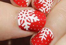 Nail Art - Winter / Ideeën en inspiratie voor nail art tijdens de winter.