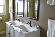 home - bathrooms ♥ / by Noreen Flanagan Johnson