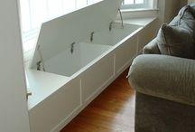 storage/book shelves/pantry