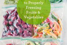 Freezing fruits and veggies / by Jim Barron