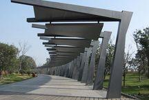 walkway/ outdoor structures