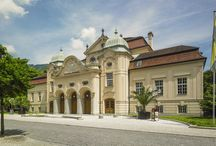 Historic Architecture Bad Reichenhall  / Bad Reichenhall Gebäude, architecture, historic