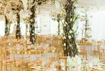Katies Wedding / Trees, candles and rustic looks for this vintage loving bride to be