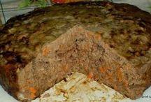 пирог из печени