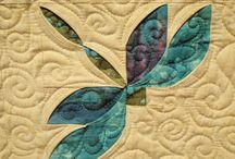 Libelulas y mariposas Patchwork