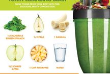 Recipes: NutriBullet & Smoothies / Recipes for your NutriBullet and Smoothies