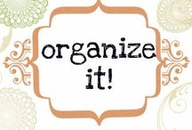Let's get organized! / by Brittany Aguilar