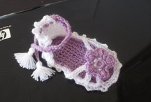 Crochet Baby Booties / Crochet Patterns 