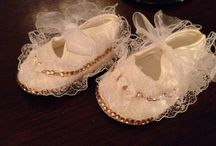 Bling baby shoes
