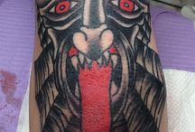 Devil/Demon Tattoos / Most tattoos here are *NOT* by us, but are done by other awesome tattooers!