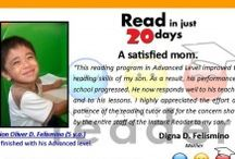 Instant Reader Testimonials / Read what parents are saying about INSTANT READER PROGRAM