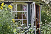 Potting Sheds / I have potting shed envy because these potting sheds are so cool.