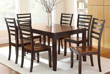 Casual Wood Kitchen Table Sets