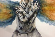 watercolor / watercolor work by camilo botero @Camilobotero71/instagram