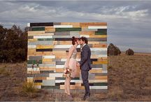 Posh Wedding Ceremony / Backdrops, Altar, Aisles and Seating