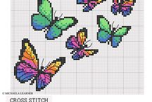 Butterfly cross stitch / by Bella Shereef