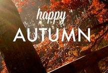 Autumn / Autumn 2014 has arrived! Here is our celebration of our favourite season!