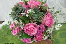 Wedding Trends 2015 / popular bouquets and flowers